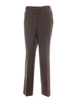 guy et cotten pantalons et citadins femme de couleur marron