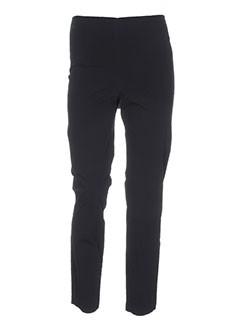 rundholz pantalons femme de couleur noir