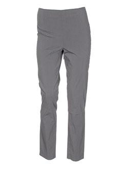 rundholz pantalons femme de couleur gris