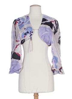 paule vasseur vestes femme de couleur violet