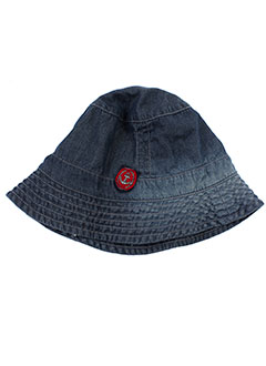 3 et pommes chapeaux et bonnets fille de couleur bleu (photo)