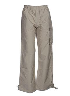 coudemail pantalons garçon de couleur beige