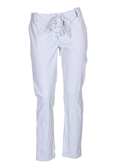 imperial pantalons femme de couleur gris