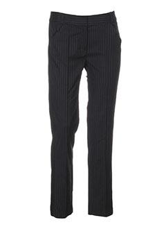 la manufacture 8 linvingstone pantalons femme de couleur noir
