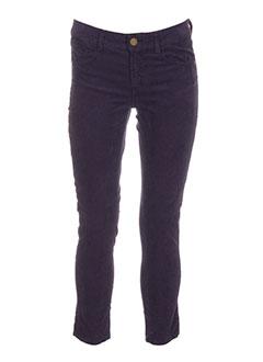 shine pantalons et decontractes femme de couleur violet