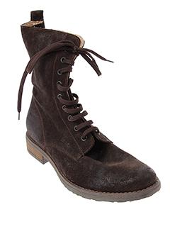 bi et key boots femme de couleur marron