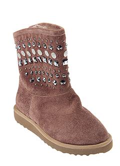 hookipa boots fille de couleur marron