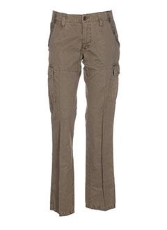 camel active pantalons femme de couleur vert