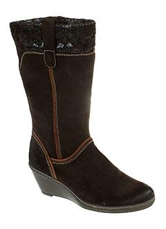 marco et tozzi bottes femme de couleur marron