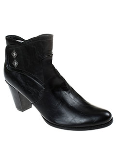 the et divine et factory bottines femme de couleur noir