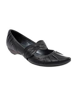 bocage chaussures femme de couleur noir