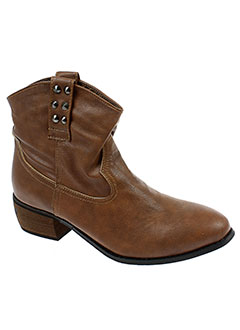 ideal et shoes boots femme de couleur marron