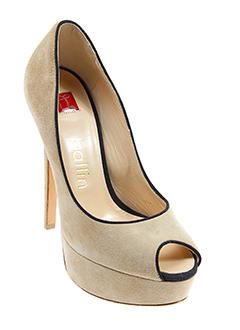 ballin chaussures femme de couleur beige