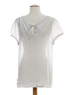 Top gris OF WHITE pour femme
