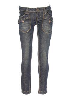 fornarina jeans et coupe et slim femme de couleur bleu