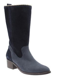 gaimo bottes femme de couleur bleu