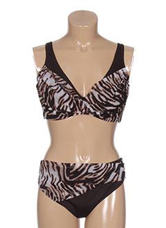 roidal maillots de bain femme de couleur marron