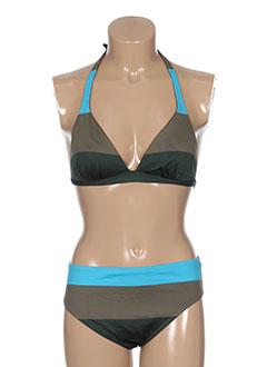 gemma maillots de bain femme de couleur bleu