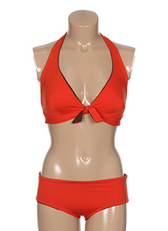 gemma maillots de bain femme de couleur orange