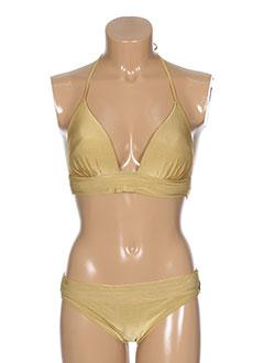 majestic maillots de bain femme de couleur jaune