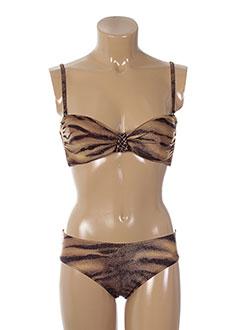 gottex maillots de bain femme de couleur marron
