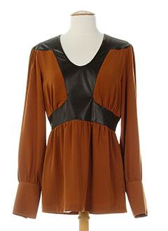 biscote tuniques femme de couleur marron