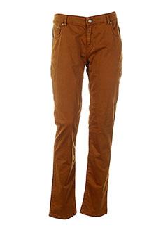biscote pantalons femme de couleur marron