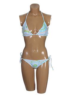 lenny maillots de bain femme de couleur bleu