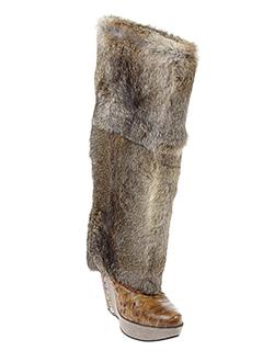 amaranti bottes femme de couleur marron