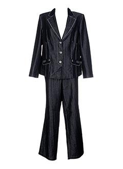 tuzzi pantalon et veste femme de couleur gris