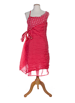 accostages robes femme de couleur rose