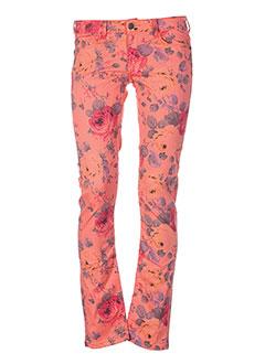chipie pantalons femme de couleur orange