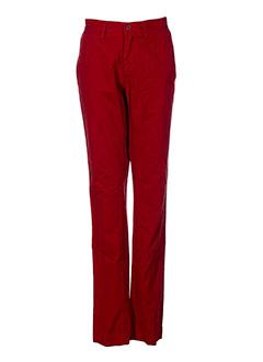 Pantalon casual rouge TEDDY SMITH pour garçon