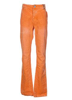 garcia pantalons garçon de couleur orange