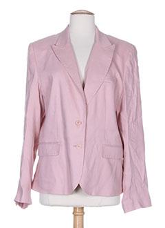 c72509018014 Vestes de marque GERARD DAREL de couleur rose en soldes pas cher - Modz