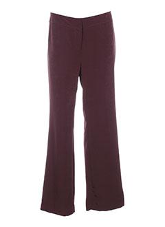 bleu blanc rouge pantalons femme de couleur marron