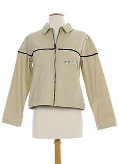 ddp vestes femme de couleur beige