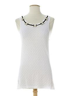 rocco barocco jeans chemises femme de couleur blanc