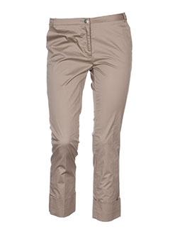 cappopera couture pantacourts femme de couleur beige