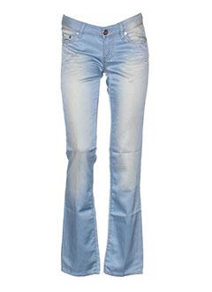 seven 7 pantalons femme de couleur bleu