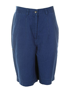rosa rosam shorts / bermudas femme de couleur bleu