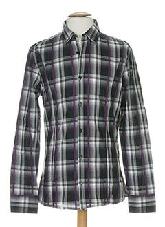 bikkembergs chemises homme de couleur gris