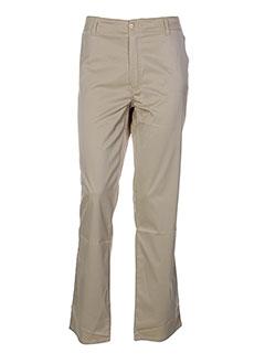 tark et 1 pantalons et decontractes femme de couleur beige