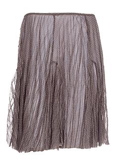 3322 jupes et courtes femme de couleur marron (photo)