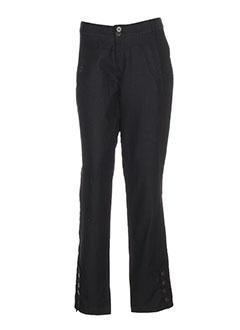 Pantalon casual marron ET COMPAGNIE pour femme