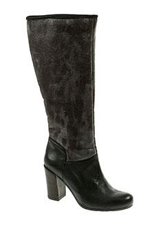 espace bottes femme de couleur noir