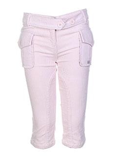 lili et gaufrette pantalons et decontractes fille de couleur rose