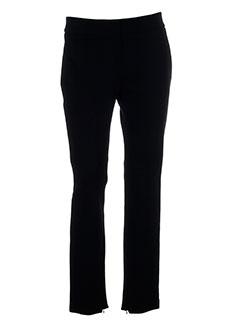 fairly pantalons femme de couleur noir