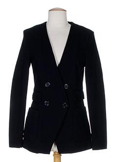 fairly vestes femme de couleur noir