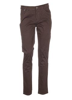 diplodocus pantalons femme de couleur marron